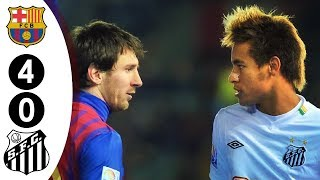 Video Messi vs Neymar Face To Face For The First Time - Barcalona vs Santos 4-0 FIFA Club WC Final 2011 MP3, 3GP, MP4, WEBM, AVI, FLV Agustus 2019