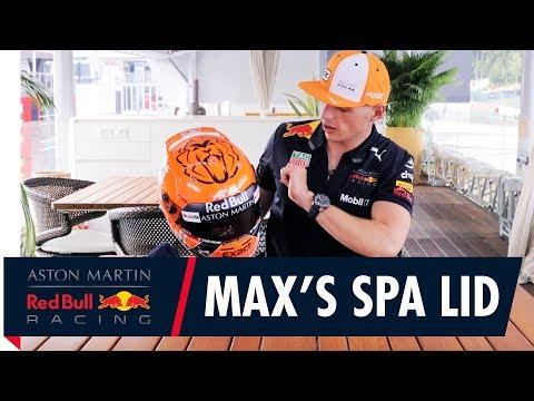 Max Verstappen's Belgian Grand Prix Helmet Reveal