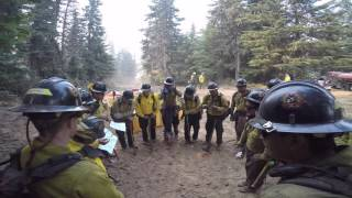 Geronimo Hotshots Fire Season 2015