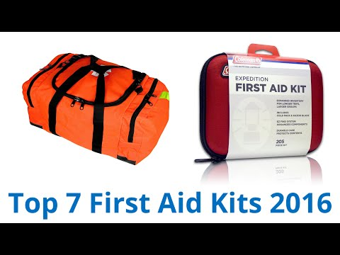 7 Best First Aid Kits 2016