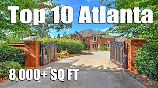Atlanta Mansions And Million Dollar Homes From $1 Million To $2 Million