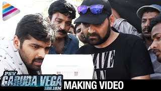 Rajasekhar's PSV Garuda Vega Movie Making | Pooja Kumar | Sunny Leone | Adith