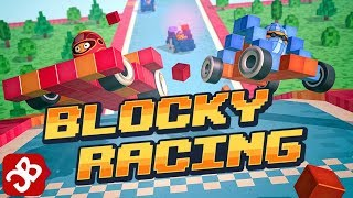 Blocky Racing (By Nexx Studio) - iOS/Android - Gameplay Video