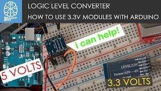 Using A Logic Level Converter To Connect 3.3V Modules Safely To An Arduino
