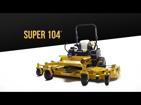 2021 Hustler Turf Equipment Super 104 in. Vanguard Big Block EFI 37 hp in Greenville, North Carolina - Video 1