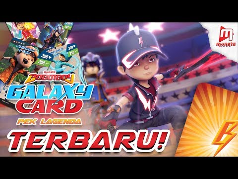 Boboiboy Galaxy Card Pek Lagenda Part 1 Armanrayyan Faizul Video