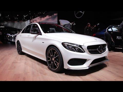 Mercedes-Benz C450 AMG Sport 4MATIC -  2015 Detroit Auto Show