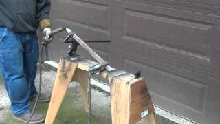 How to thaw frozen pipes with a Stick / Arc Welder