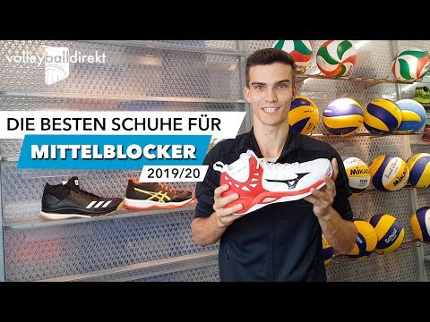 Die besten Volleyballschuhe für Mittelblocker 19/20