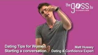 Dating advice - Can I approach a guy? - Matt Hussey - Get the Guy