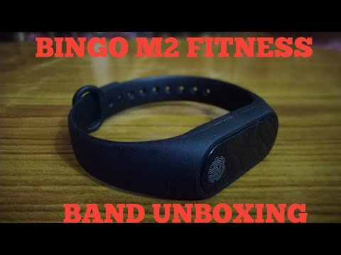 Bingo M2 smart fitness band unboxing & hands on