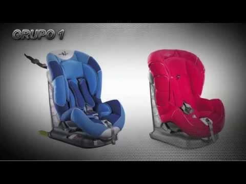 ¿Cómo colocar sillitas de bebé en el coche?