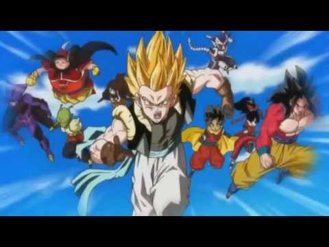 Dragon Ball GT/Heroes Adult Gotenks Fusion