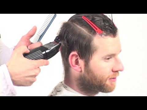Men`s Haircut two blocks