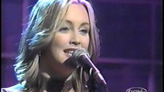 Tara MacLean - If I Fall (live) - Open Mike with Mike Bullard 2000 - part I