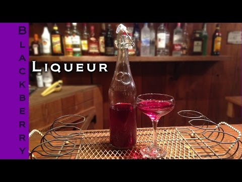 How To Make Homemade Blackberry Liqueur | Blackberry Liqueur Recipe | Epic Guys Bartending