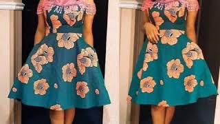 Latest Ankara African Print Dresses. 2020 Styles. Kitenge Fashion.