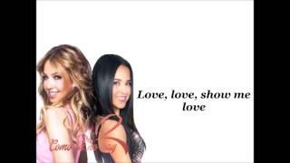 Thalia and Becky G-Como Tu No Hay Dos (lyrics)