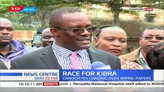 KIBRA RACE: ANC's Eliud Owalo hands over nomination papers to IEBC