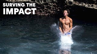 Surviving the Impact of Cliff Diving