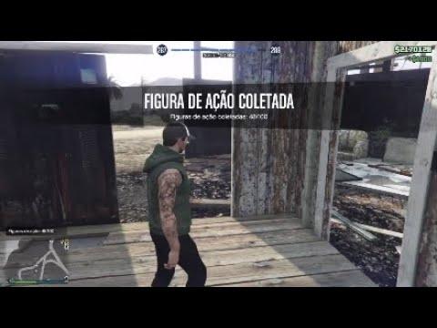 GTA V ONLINE - LOCALIZAÇÃO DAS ACTION FIGURES Pt.2