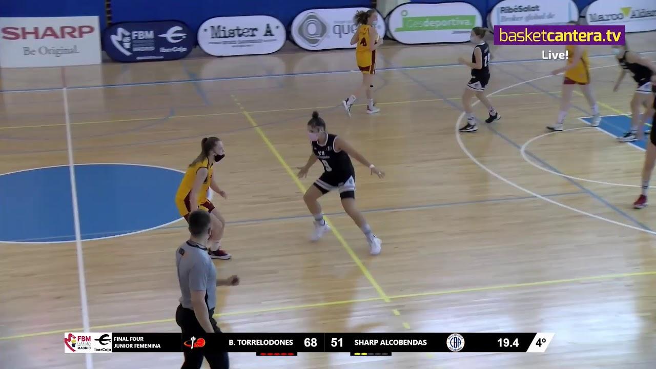 F4Junior Fem B. TORRELODONES  - SHARP ALCOBENDAS.- Liga U18F FBMadrid 2021