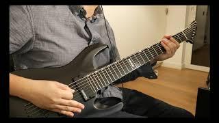 Devin Townsend   Empath Guitar Cover Part 13 (Castaway, Genesis, SWC, Evermore, Sprite)