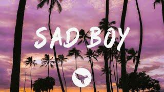 R3HAB & Jonas Blue - Sad Boy (Lyrics) feat. Ava Max & Kylie Cantrall