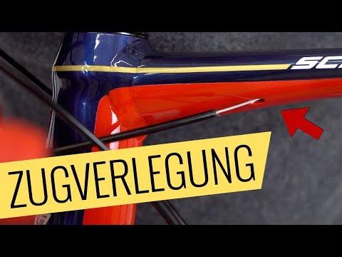 Zugverlegung im Rahmen - Austausch Tutorial - Fahrrad.org