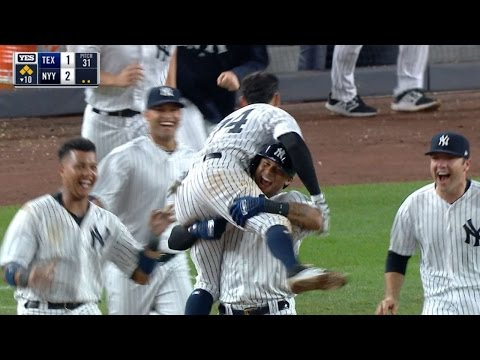 6/23/17: Yankees walk off on Torreyes' single in 10th