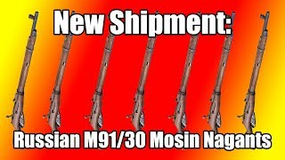 Mosin Nagant M91/30 Unboxing