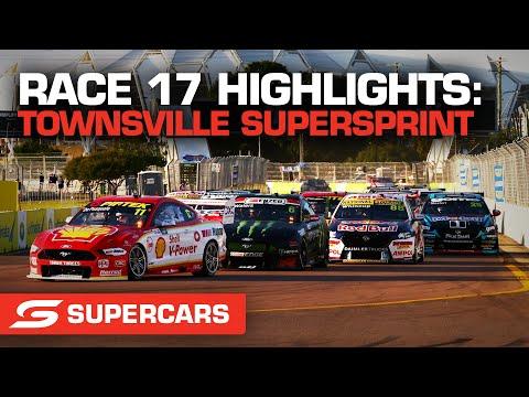 SUPERCARS 2021 Townsville SuperSprint 決勝レースのハイライト動画