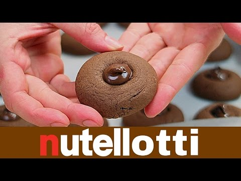 NUTELLOTTI FATTI IN CASA DA BENEDETTA - Homemade Nutella Truffles Cookies