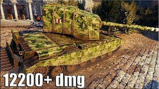 ТРИ ОТМЕТКИ 12200+ dmg 🌟 FV4005 Stage 2 World of Tanks лучший бой