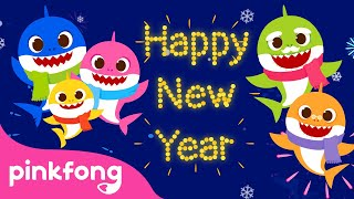 Happy New Year Baby Shark | Happy New Year Song | Baby Shark Song | Pinkfong Songs for Children