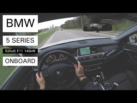 Bmw 5 Series F11 Универсал класса E - тест-драйв 2