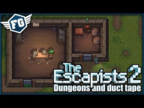 VELKÝ FAIL - The Escapists 2: Dungeons And Duct Tape #2