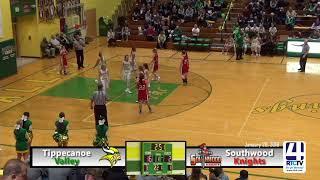 Tippecanoe Valley Girls Basketball vs Southwood