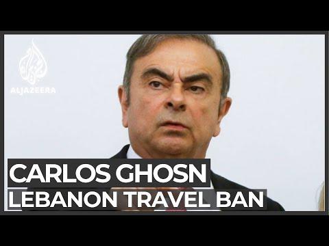 Lebanon slaps travel ban on Ghosn
