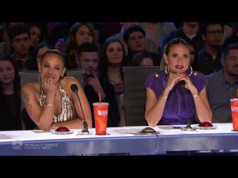 America's Got Talent 2017 Yoli Mayor Auditions 1 Full Audition (видео)