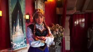 Rapunzel and flynn rider from tangled meet greet at disneyland frozen anna elsa meet and greet with olaf in fantasyland at disneyland m4hsunfo