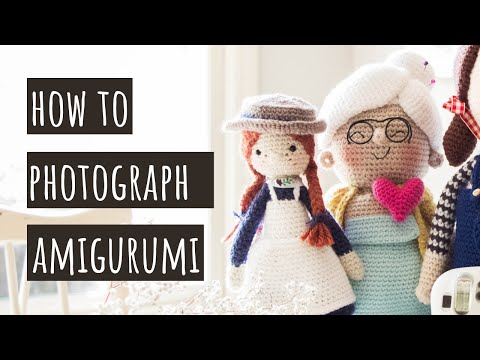 How to Photograph Amigurumi + Find Your Personal Photography Style
