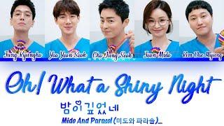 Mido And Parasol (미도와 파라솔) Oh! What A Shiny Night 밤이깊었네 (Drama Ver.) Hospital Playlist OST Lyrics/가사