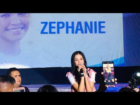 Zephanie Dimaranan sings 'SALAMAT' at KCC MALL of GenSan