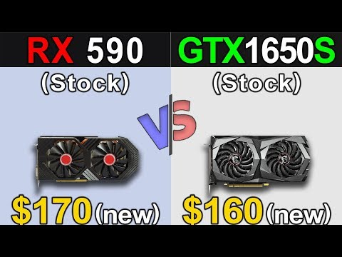 RX 590 Vs. GTX 1650 Super | 1080p and 1440p | New Games Benchmarks
