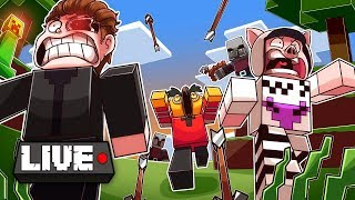Mine-Cracked Out of my Mind! Diamond Hunting :D (Minecraft Livestream #3)