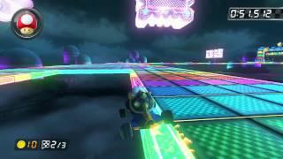 SNES Rainbow Road - 1:24.642 - HD ◆ (Mario Kart 8 World Record)