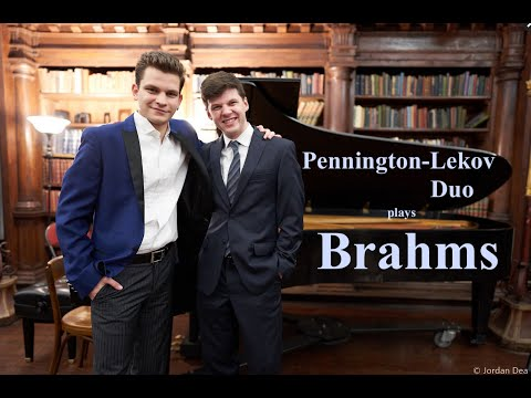 Pennington-Lekov Duo Plays Brahms E Minor Sonata at The National Opera Center