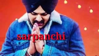 Sarpanchi(Official Vedio) Sidhu Moosewala,New Punjabi Song