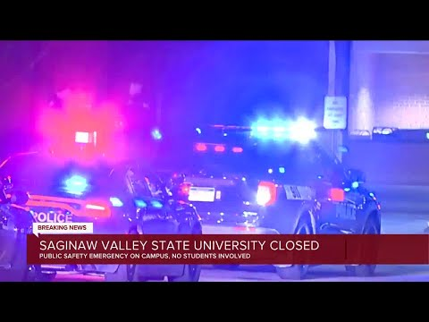 Saginaw Valley State University closed Friday